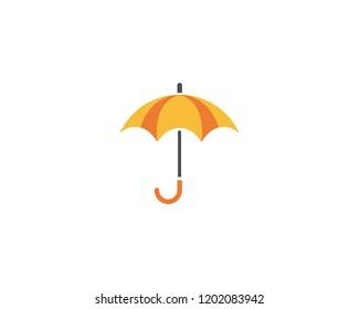 umbrella logo vector template
