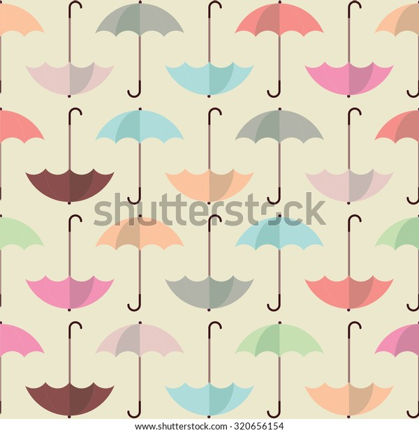 photo relating to Umbrella Pattern Printable identify Umbrella Routine Layout Website Print Wallpaper Inventory Vector