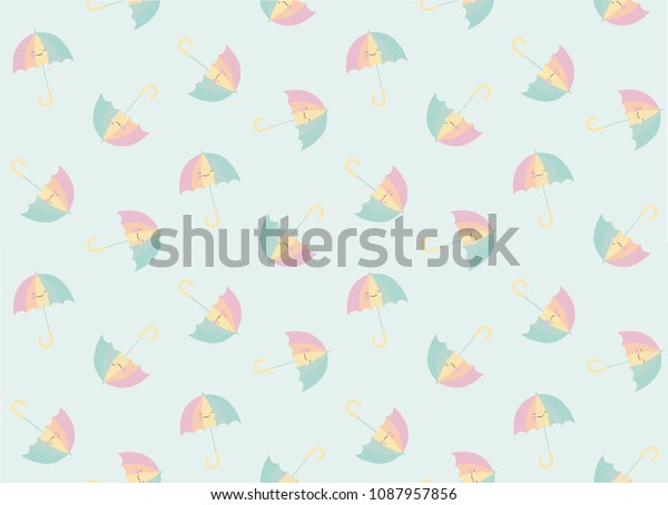photograph regarding Umbrella Pattern Printable Free called Umbrella Practice Print Vector Inventory Vector (Royalty Cost-free