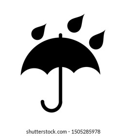umbrella rain icon - From forecast, Climate and Meteorology icons, widget icons