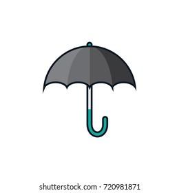 Umbrella rain vector