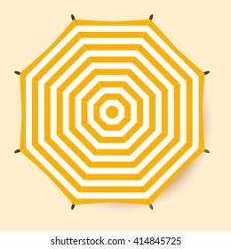 Beach Umbrella Tops Stock Vectors Images Amp Vector Art