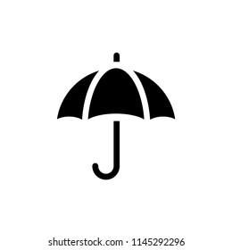 umbrella vector icon design template