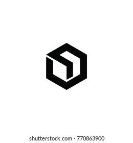un letter concept logo vector