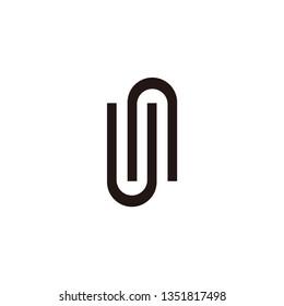 un letter vector logo. s letter vector logo