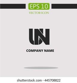 UN logo. abbreviation
