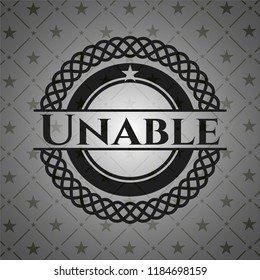 Unable black badge