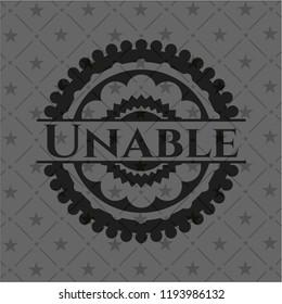 Unable dark emblem