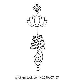 Buddhist Symbols Images, Stock Photos & Vectors | Shutterstock