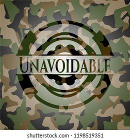 Unavoidable on camo pattern