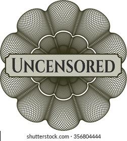 Uncensored money style rosette