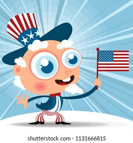 bunting usa flags stock photos people images shutterstock
