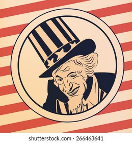 Uncle Sam vector pic
