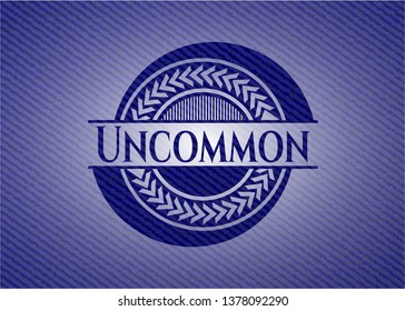 Uncommon denim background