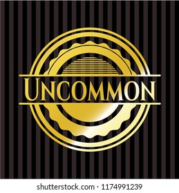 Uncommon gold badge
