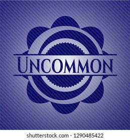 Uncommon with jean texture