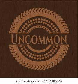 Uncommon retro wood emblem