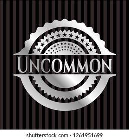 Uncommon silver emblem