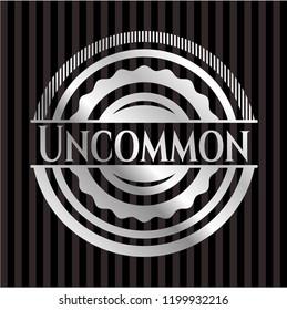 Uncommon silver shiny emblem