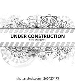Under construction. Hand draw gears.