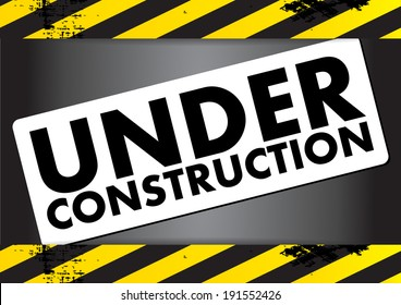 Under Construction - vector