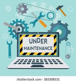 Under maintenance vector concept