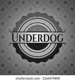 Underdog black emblem