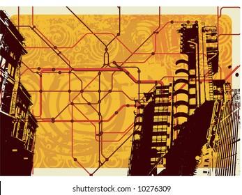 underground map illustration
