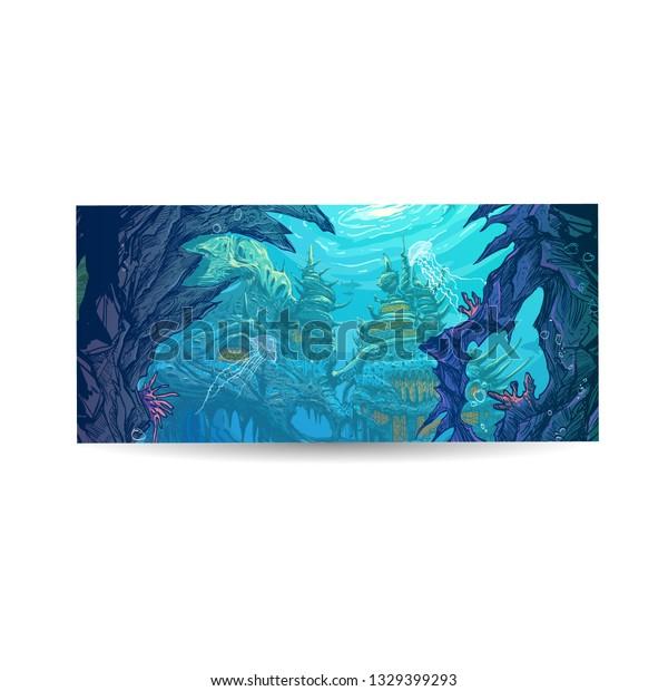Concept Art Underwater