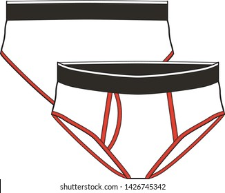 underwear vector illustration isolated graphic