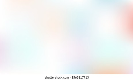 Unfocused Mesh Vector Background, Hologram Princess Teal. Dreamy Pink, Purple, Turquoise Glitch Female Cute Girlie Background. Rainbow Fairytale Iridescent Pearlescent Holographic Nice Wallpaper