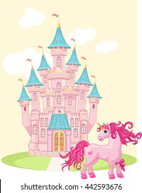 Unicorn and air castle