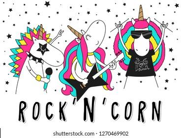 unicorn band, rock and roll music band