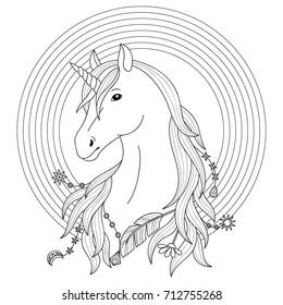 Royalty Free Unicorn Black Images, Stock Photos & Vectors | Shutterstock