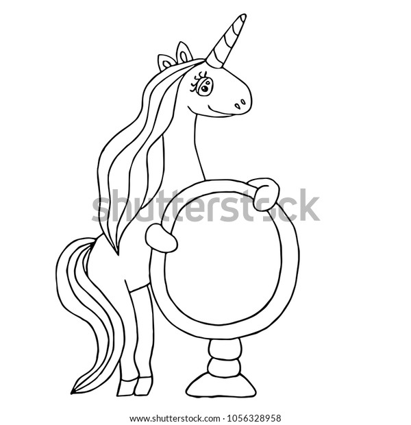 - Unicorn Coloring Book Magical Anima Coloring Stock Vector (Royalty Free)  1056328958