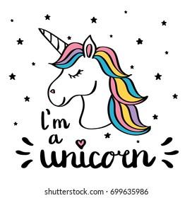 Unicorn Drawing Görseller Stok Fotoğraflar Ve Vektörler