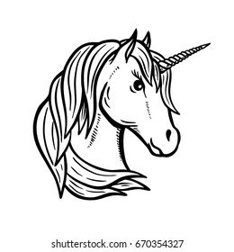 Royalty Free Unicorn Head Images Stock Photos Vectors Shutterstock