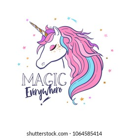 photograph relating to Printable Pictures of Unicorns titled Unicorn Thoughts Pics, Inventory Illustrations or photos Vectors Shutterstock
