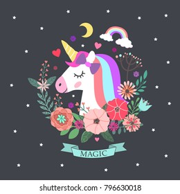 Unicorn and magic