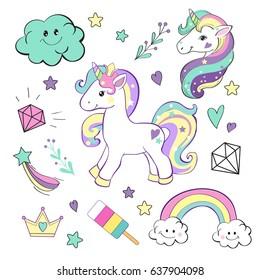 unicorn pop art collection