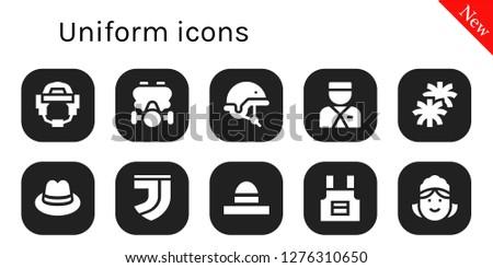 uniform icon set 10