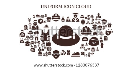 uniform icon set 93