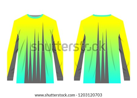 Uniforms Competitions Team Games Corporate Style Stock Vector