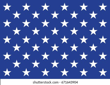 Union Jack flag for Use as USA NAVY flagship in vector.