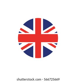 Union Jack round logo