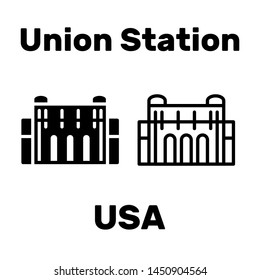 Union Station is located in the United States as a tourist attraction