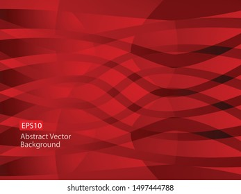 Unique Abstract EPS10 Vector Dark Red Swirl as Convergence, A New Whole, Background Template that could be used for various technology and businesses today and communications. Space for text