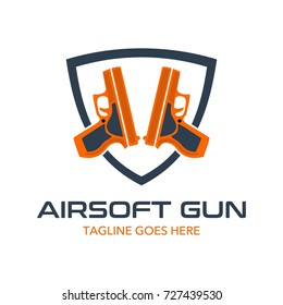 Unique Air Soft Gun Logo