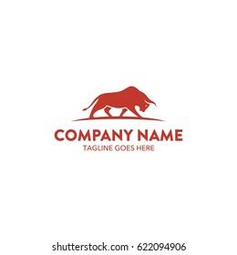 Unique Bull Logo