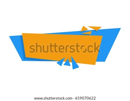 Unique Creative Banner Design Template Stock Vector Royalty Free